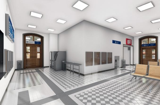 Rusza przebudowa dworca Palędzie [wizualizacje]