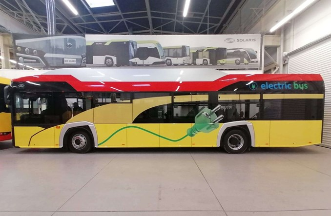 Oświęcim: Elektrobus Solarisa już gotowy [zdjęcia]