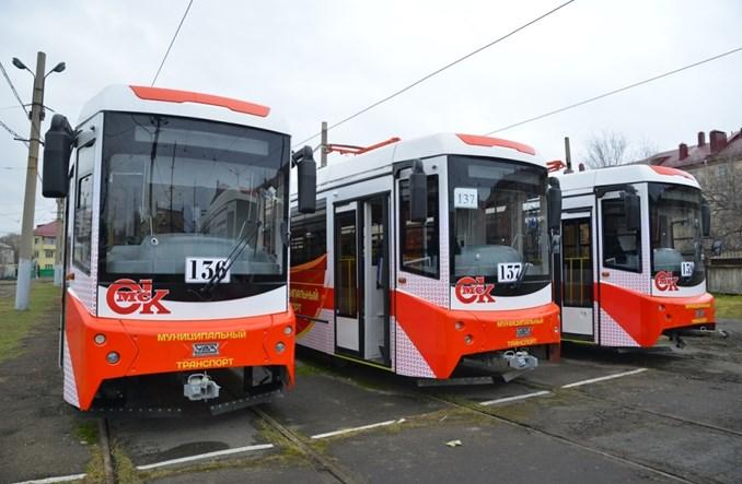 Omsk z nowymi tramwajami
