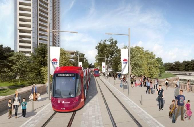 Australia: Nowa trasa tramwajowa powstaje w Nowej Południowej Walii [grafiki]
