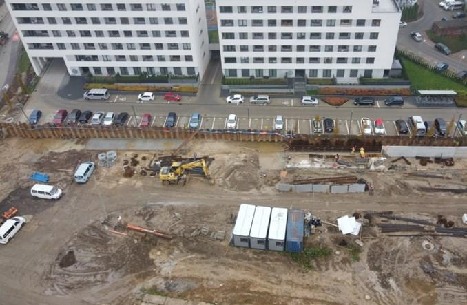 Kraków: Budowa tramwaju do Górki Narodowej nie zwalnia tempa [zdjęcia]