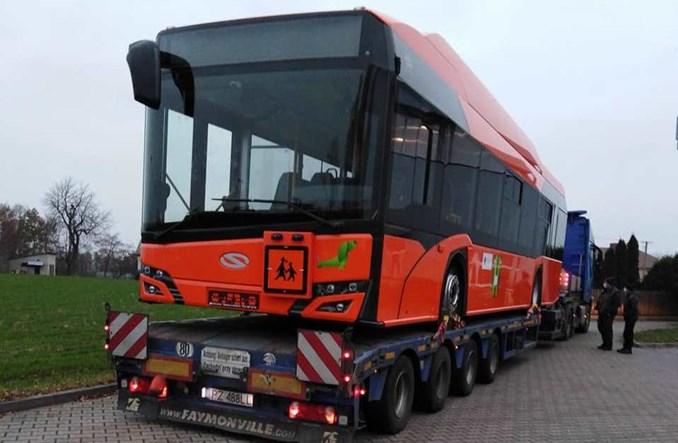 Pierwszy szkolny elektrobus Solarisa już w Godzianowie [zdjęcia]