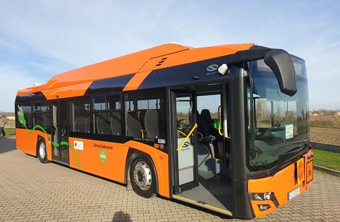 Gręboszów odbiera elektryczny autobus szkolny