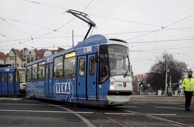 Szczecin: Pomyślny przejazd tramwaju na Wyszyńskiego