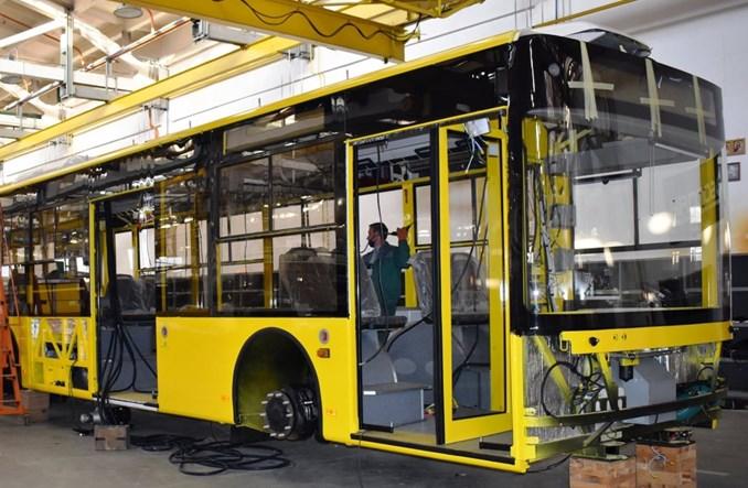 Bogdan Motors rozpoczyna produkcję 15 trolejbusów dla Kijowa