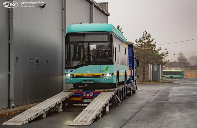Jaworzno: Pierwsze elektrobusy z nowej dostawy