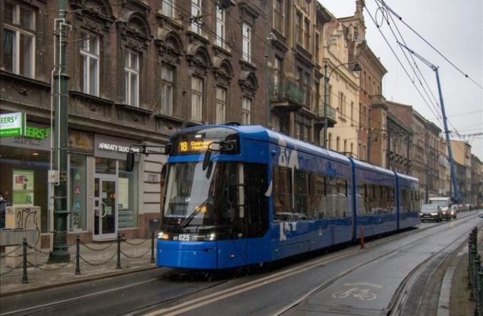 Kraków testuje jazdę Lajkonika bez pantografu w regularnym ruchu