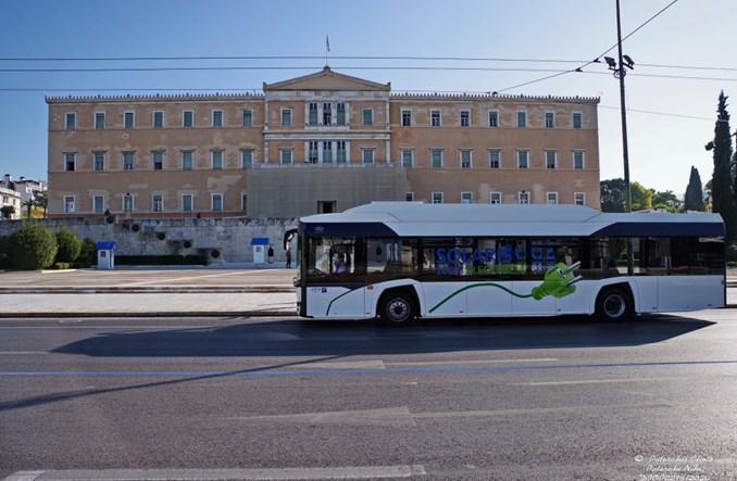 Elektryczny Solaris na testach w Atenach