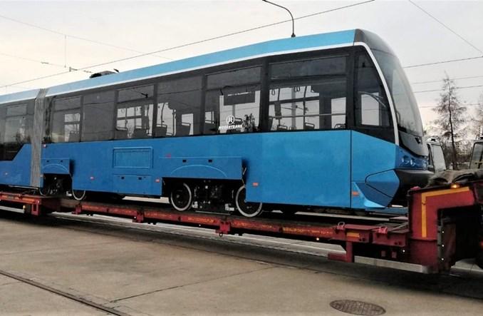 Pierwszy wyremontowany przez Modertrans tramwaj wrócił do Wrocławia [zdjęcia]