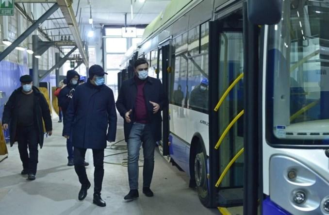 Trolejbusy Solarisa z Rygi dotarły do Kiszyniowa