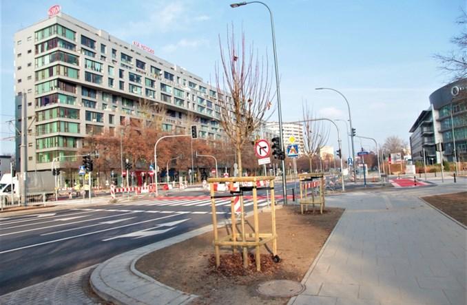 Warszawa: Bezpieczniej na Grójeckiej. Nowe skrzyżowanie z Racławicką