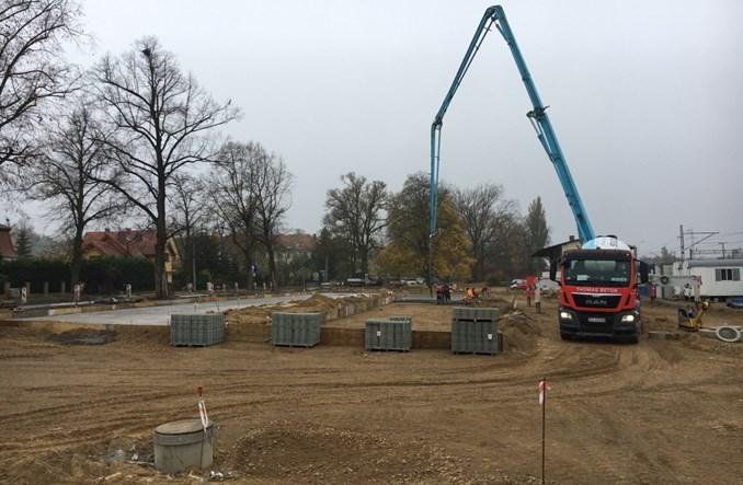 Trwa budowa węzła Szczecin Podjuchy [zdjęcia]
