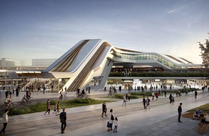 Budowa dworca Ülemiste w Tallinie dla Rail Baltiki ruszy w przyszłym roku