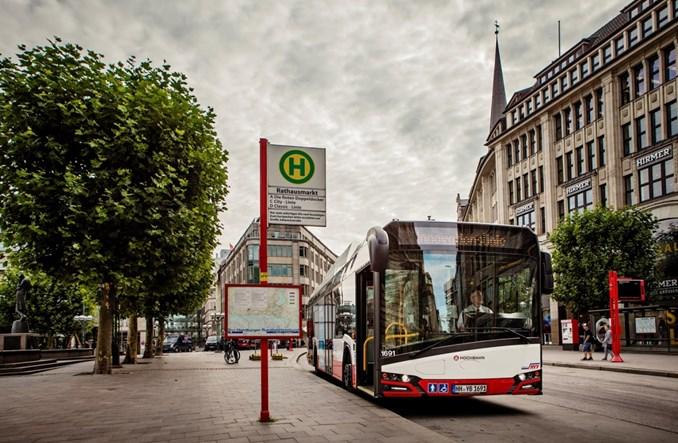 Solaris otrzymuje zlecenie w ramach przetargu na 530 elektrobusów dla Hamburga