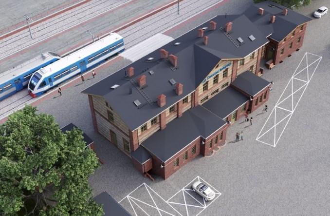 Dworzec w Świebodzinie zostanie przebudowany [wizualizacje]