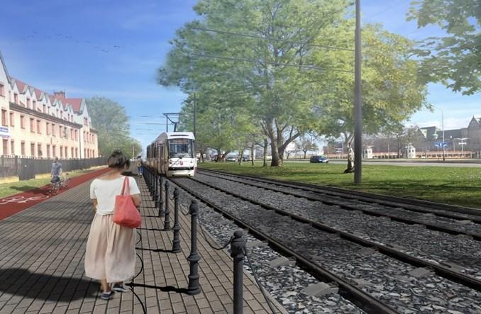 Szczecin: Rusza przetarg na przebudowę tras tramwajowych do pętli Pomorzany [wizualizacje]