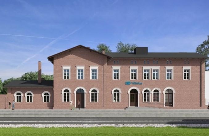 Dworzec w Witnicy zostanie wyremontowany. Rusza przetarg [wizualizacje]