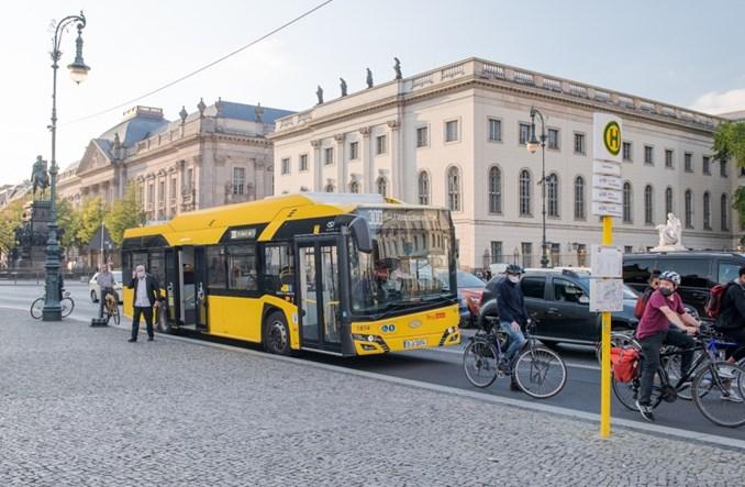 Berlin odebrał 90 elektrobusów Solarisa