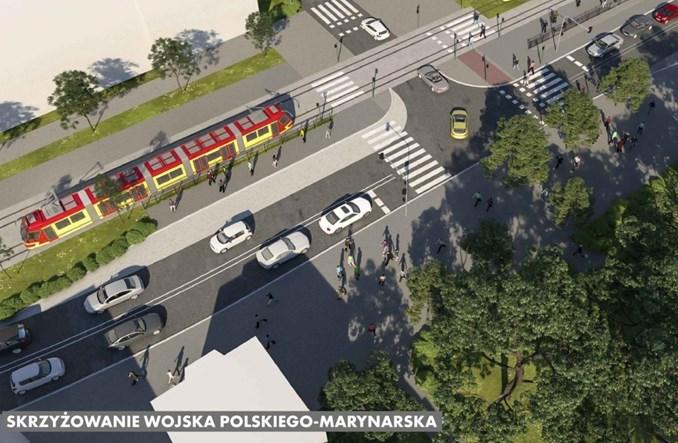 Łódź rozpisuje przetarg na remont tramwaju na Wojska Polskiego