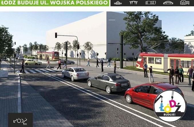 Łódź: Wojska Polskiego w podziale na dwa przetargi. Jeśli nie tunel, to tramwaje dwukierunkowe