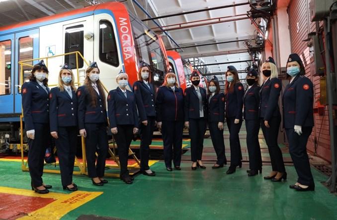 W moskiewskim metrze pracę zaczęły pierwsze maszynistki