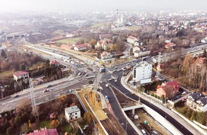 Kraków: Tramwaje na Trasie Łagiewnickiej ruszą w 2022 r.