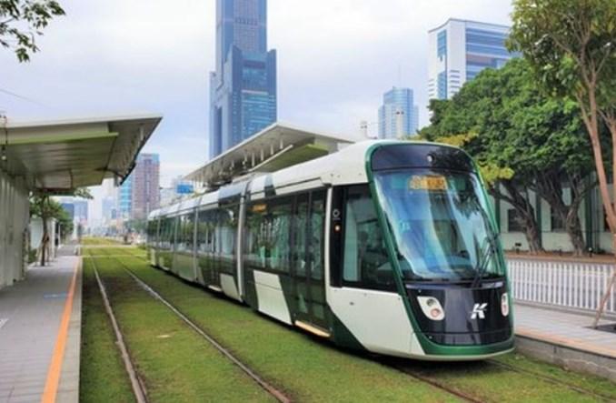 Tramwaje Alstomu debiutują na Tajwanie