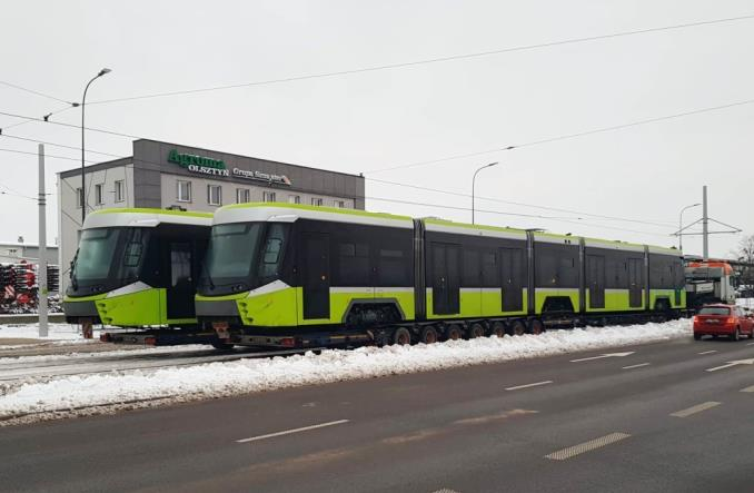 Kolejne dwie Panoramy dotarły do Olsztyna