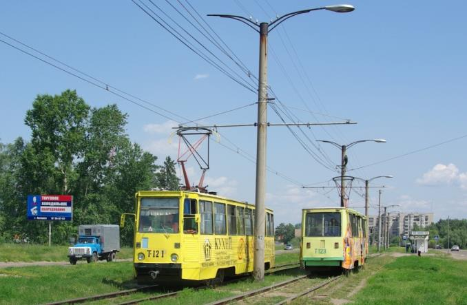 Zamieszanie z tramwajami w Angarsku