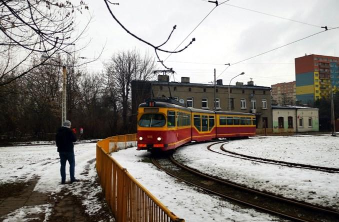 Łódź: GT8N z członem niskopodłogowym na nowych liniach