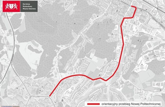 Gdańsk wybrał projektanta trasy tramwajowej Południe – Wrzeszcz (GPW)