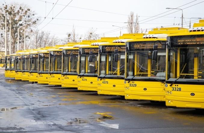 Kijów: Na trasy wyjechało 15 nowych trolejbusów [zdjęcia]