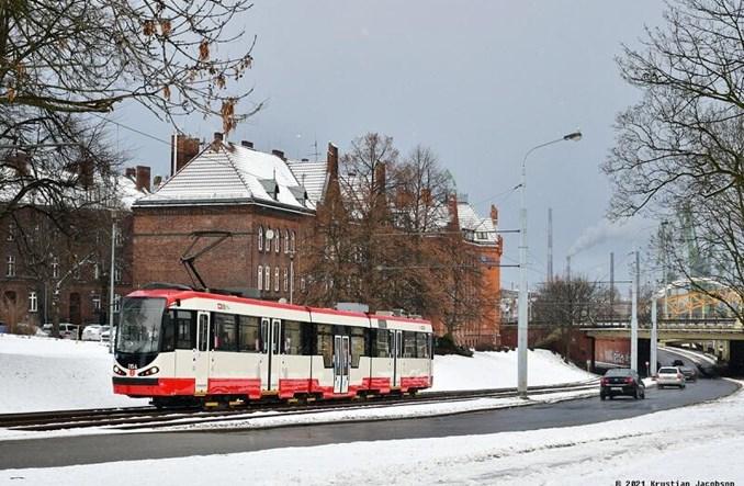 Gdańsk z nowym malowaniem autobusów i tramwajów
