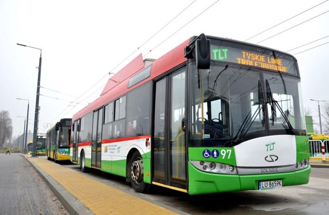 Tychy wypożyczyły trolejbusy z Lublina