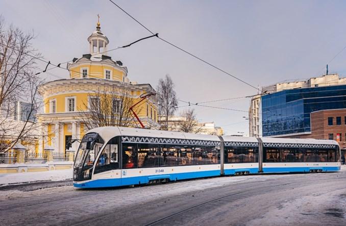 Moskwa otrzyma zmodyfikowaną wersję tramwajów Witiaź-M