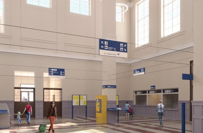 Zbliża się przebudowa dworca w Zbąszyniu. Umowa podpisana [wizualizacja]