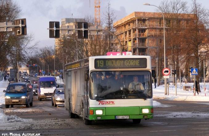 Białystok: Prawie 60-proc. spadek sprzedaży biletów