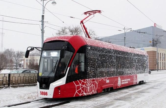 PK TS przed czasem zakończył dostawy 15 tramwajów dla Permu