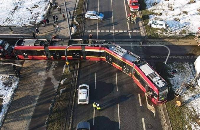 Łódź: Wypadek z udziałem tramwaju na Retkini
