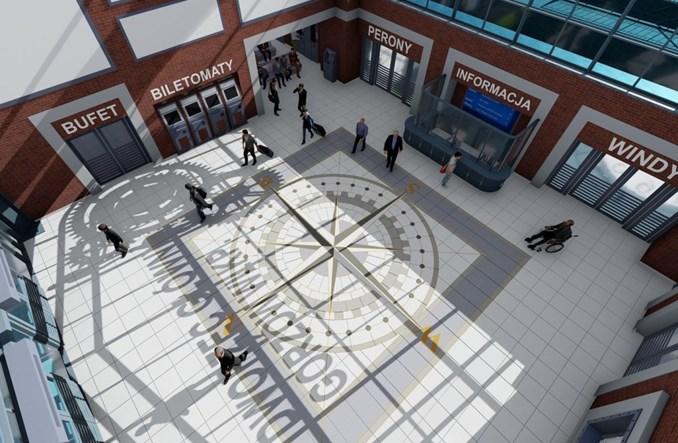 Gorzów Wlkp.: Węzeł przesiadkowy na dworcu coraz bliżej [wizualizacje]