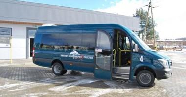 Lipno: Powiatowe autobusy kursują tak, jak przed pandemią