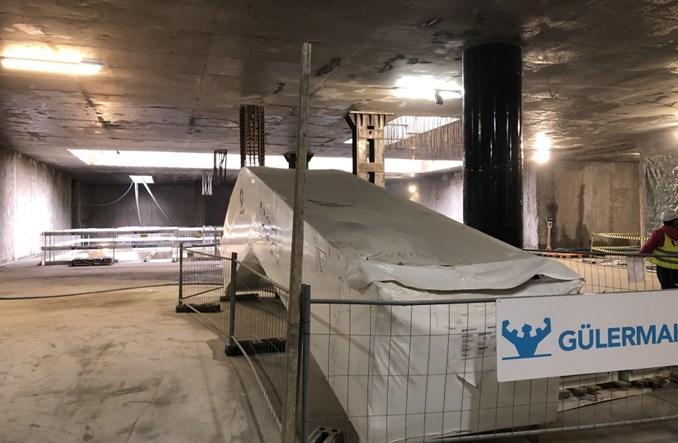 Metro na Bródno: Konstrukcje stacji gotowe, koniec prac w wakacje 2022 r.