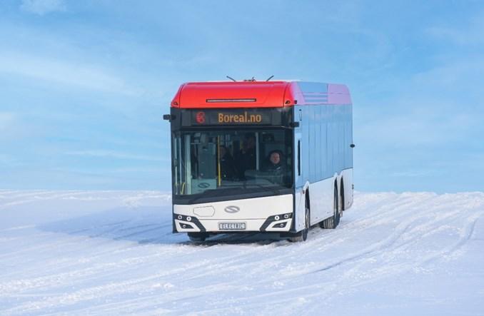 Międzymiastowy elektryczny Solaris na testach w Norwegii
