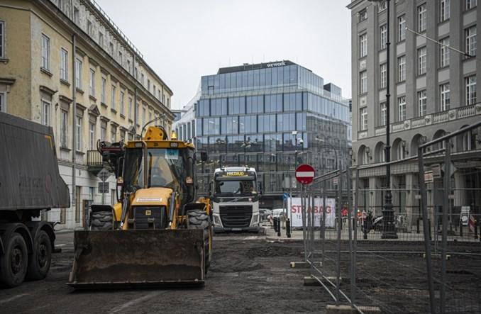 Warszawa: Ruszają prace na pl. Pięciu Rogów i konkurs dla Chmielnej