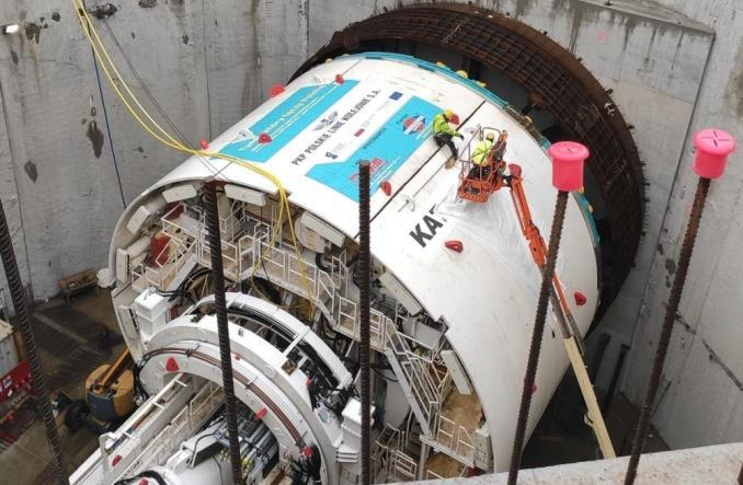 Łódzki tunel średnicowy: Zarażeni pracownicy, wstrzymane prace