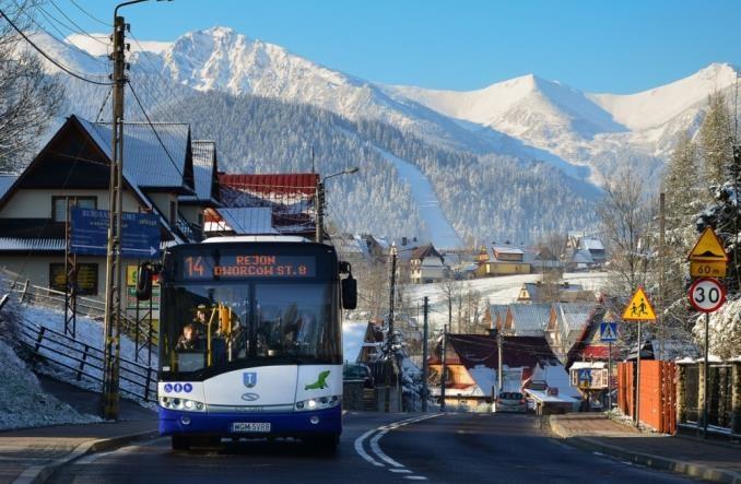 Zakopane: Plan zakupu czterech elektrobusów. Czy NFOŚiGW przyzna dofinansowanie?