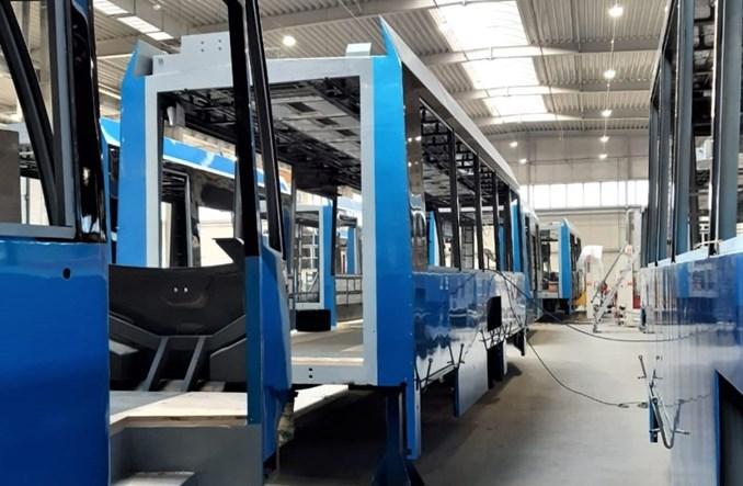 Wrocław: Protramy jadące do modernizacji wracają z nowymi pudłami