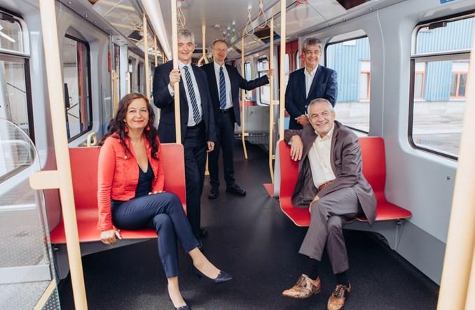 Pociągi metra X dla Wiednia oficjalnie zaprezentowane