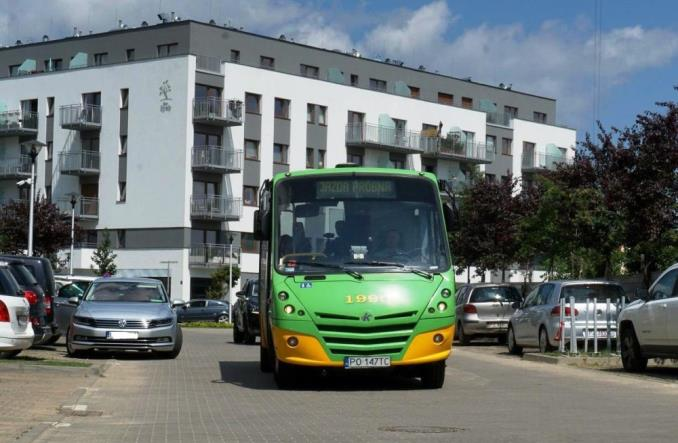 Poznań z ofertami na autobusy mini