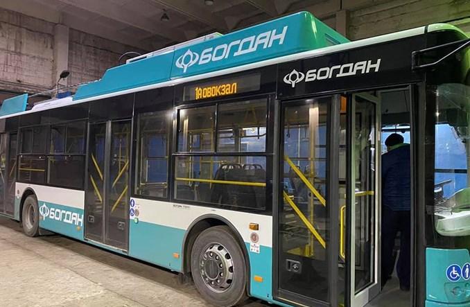Ukraina: Sumy z nowymi trolejbusami